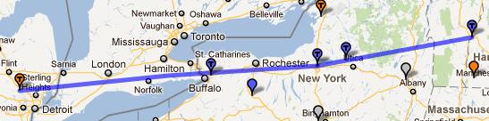Michigan on to New Hampshire