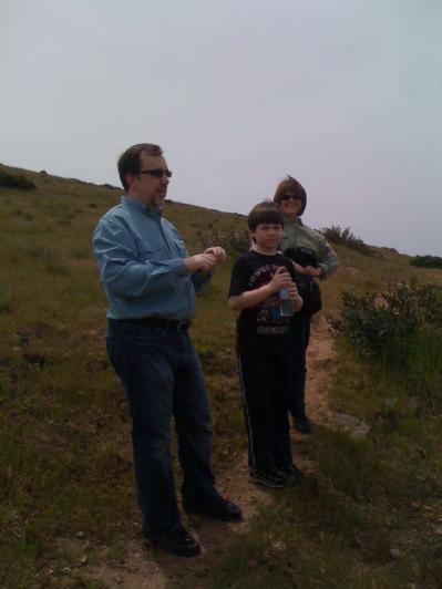 David, Miles and Diane 2010