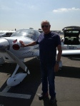 Art Newman and a Real Plane