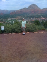 Dad at Sedona