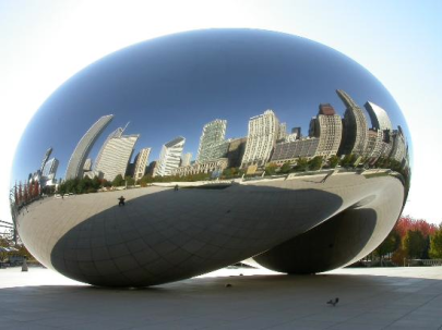 Cloud Gate, not taken by me