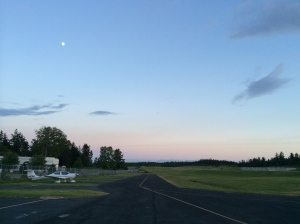 Moon Over N971RD