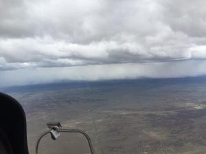Rain Pounding the Desert