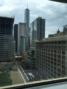 Chicago from our Hotel