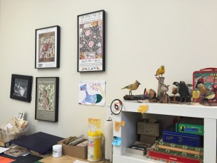Tony Fitzpatrick's Studio