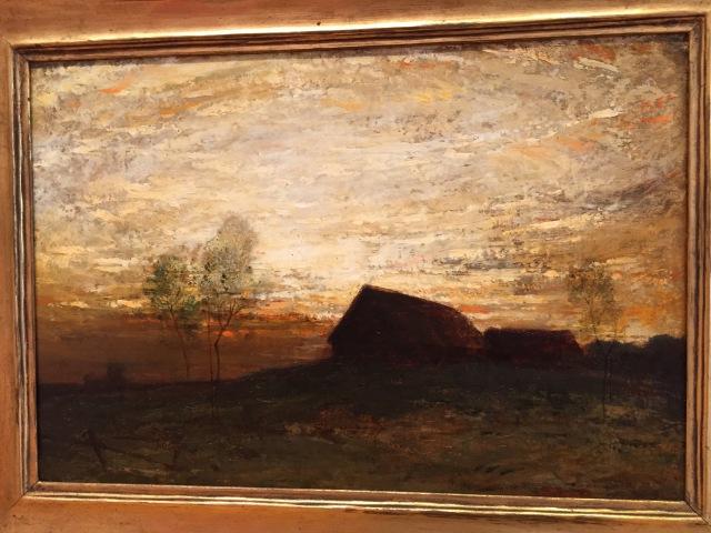 Felix Russman (American, 1888-1962) Evening Scene Oil on Canvas