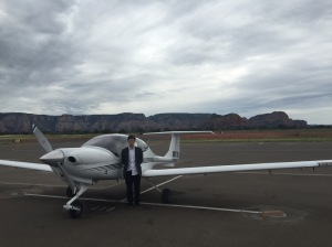 Sedona Under Grey Skies