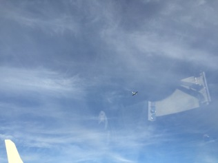 That's a Diamondstar four hundred feet above me