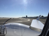 First flight to tanker fuel home