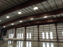 N510TS lonely in the hangar