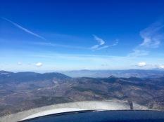 Descending toward Medford, many ridges to be aware of