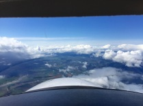 Clearing over Oregon's plain